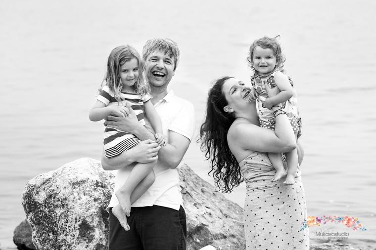 семейна фото сесия на плажа