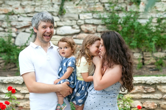 семейна фото сесия на открито